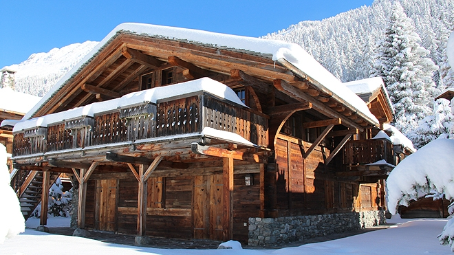 Chalet Baribal Verbier Switzerland Imperial Style